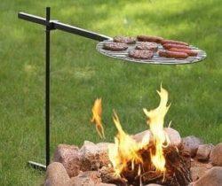 campfire swivel grill