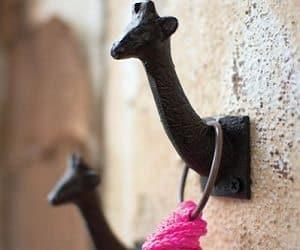cast iron giraffe hook