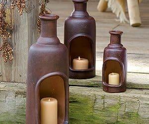 ceramic candle chimney