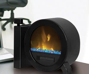 desktop fireplace