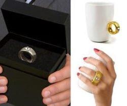 diamond ring mug