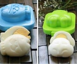 fish & car egg molds