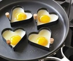 heart egg mold