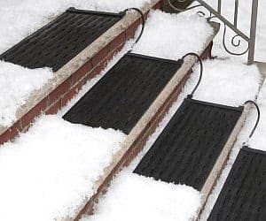 heated stairs mat