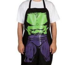 incredible hulk apron