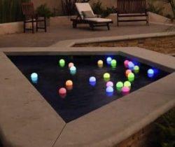 led garden deco balls