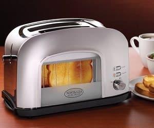 retro window toaster