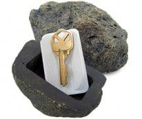 rock key holder