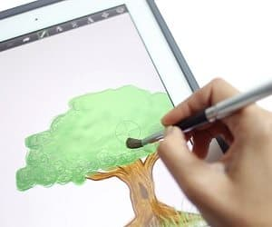 smart device artist brush