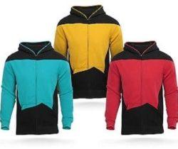 star trek uniform hoodie