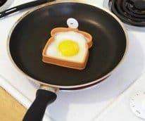 toast shape egg mold
