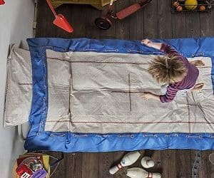 trampoline bedding set