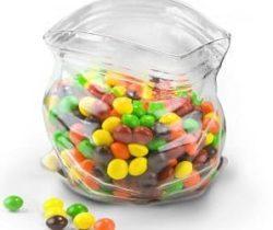 unzipped bag bowl