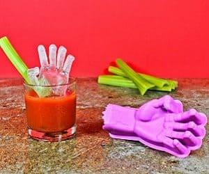 zombie hand ice mold
