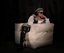 Convertible Bean Bag Arm Chair