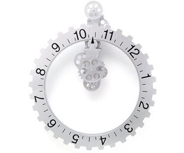 REVOLVING-WHEEL-WALL-CLOCK