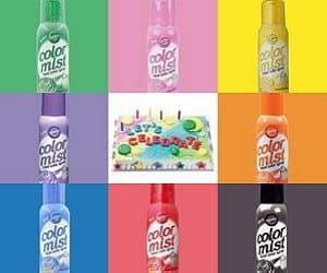 food color spray