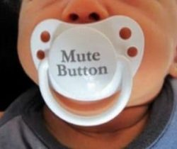 mute button paficier