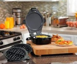 skillet and waffle maker