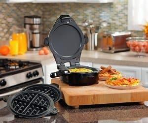 skillet and waffle maker