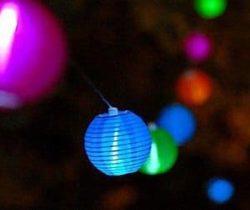 solar lantern string lights