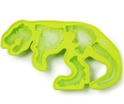 t-rex fossil ice tray