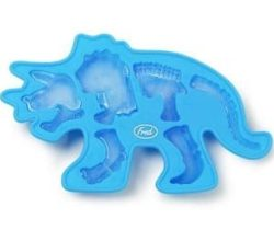 triceratops fossil ice tray