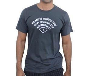 wifi connects automatically t-shirt