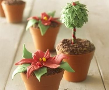 Flower Pot Cupcake Mold