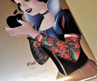 Gothic Snow White Ipad Decals