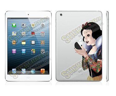 Gothic Snow White Ipad Mini Decals