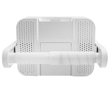 Toilet Tissue Holder With Ipod Stereo Dock Iport Iw 20 Iw20 In Wall - Icarta-ipod-dock-and-toilet-roll-dispenser