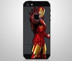Iron Man iPhone decal