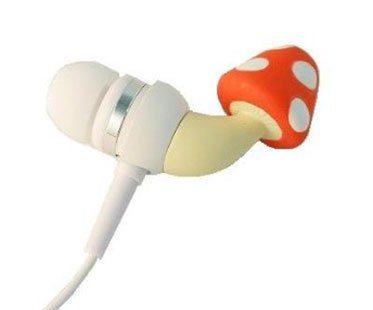 MUSHROOM-EARPHONES