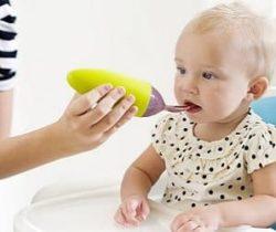 baby food dispensing spoon