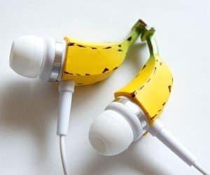 banana earphones