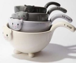 cat measuring bowls