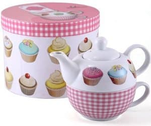 cupcake teapot for one set