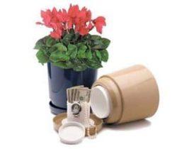 flower pot safe