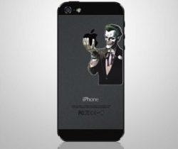 joker iPhone decal