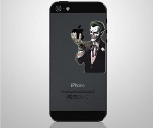 joker iPhone decal