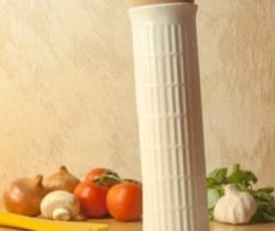 leaning tower pasta container