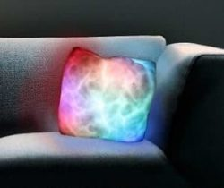 led moonlight pillow