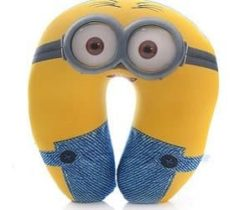 minion neck pillow