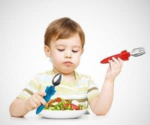 rocket eating utensils