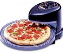 rotating tray pizza oven