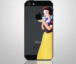 snow white iPhone decal
