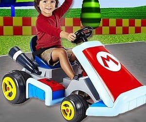 super mario ride on kart