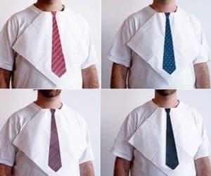tie print napkins