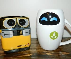 Wall e eve mug set - Walle and eve mugs ...